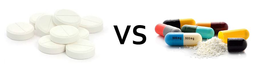 tablet vs capsule